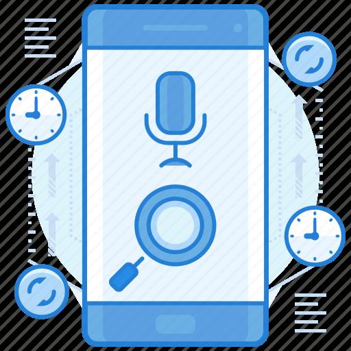assist, search, voice icon