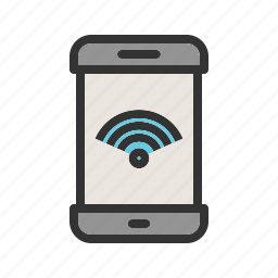 connection, internet, mobile, router, signal, wifi, wireless icon