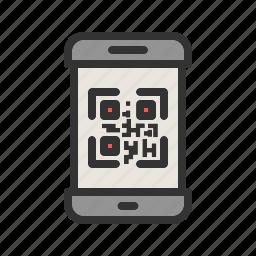 code, display, lock, mobile, phone, screen, smartphone icon