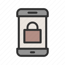 display, lock, mobile, off, phone, screen, smartphone icon