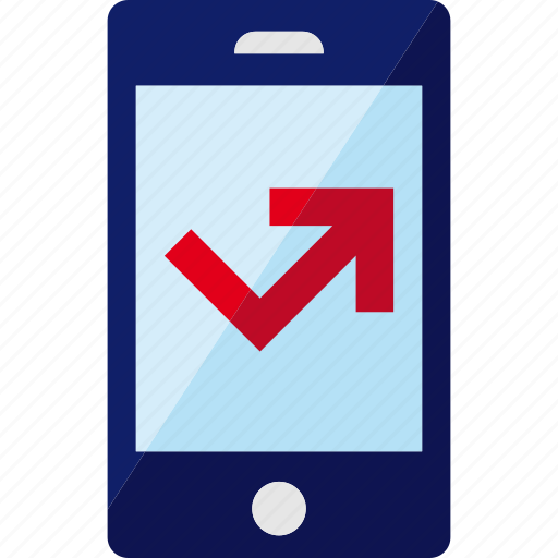 call, missed, out, outgoing, phone, smartphone, telephone icon