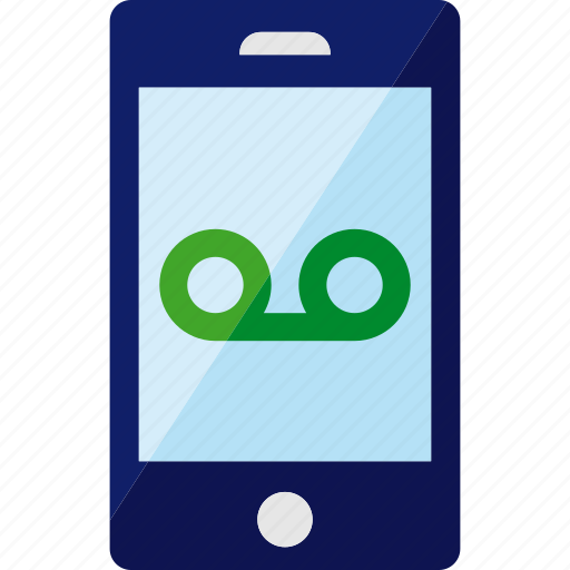 audio, call, phone, smartphone, telephone, voice, voicemail icon