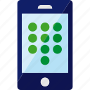 dial, dialpad, numbers, phone, smartphone icon
