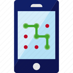 key, password, pattern, security, smartphone, unlock icon