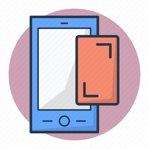 cellphone, mobile phone, notification, smartphone, touch screen icon