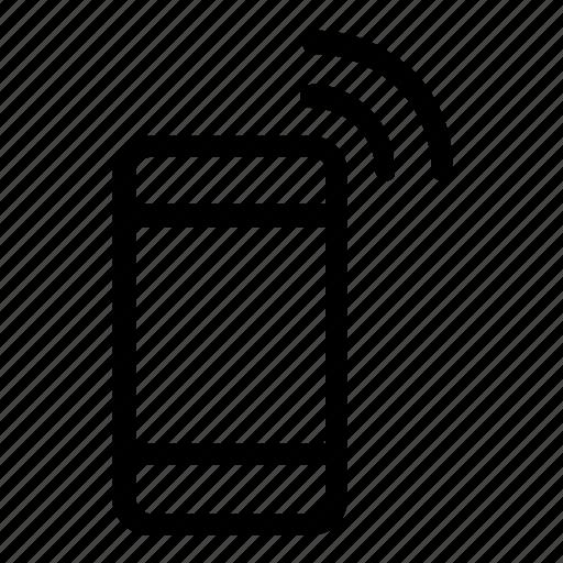 hotspot, signal, smartphone icon