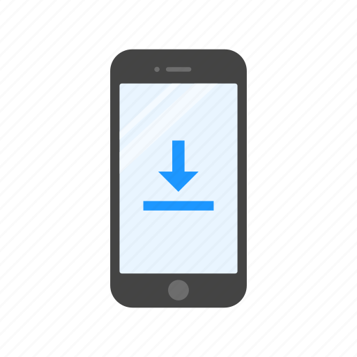 download, mobile upload, processing, uploading icon