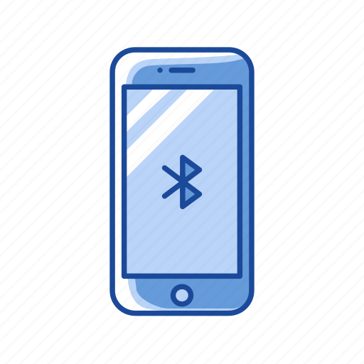 Bluetooth, connection, mobile bluetooth, phone icon - Download on Iconfinder