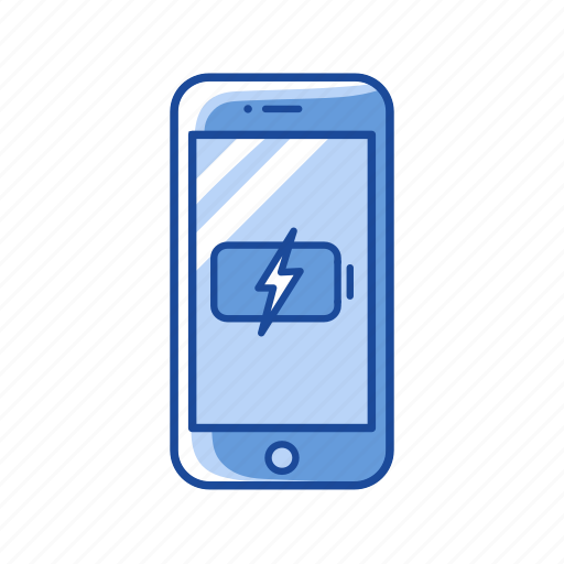battery, battery full, charging phone, phone icon