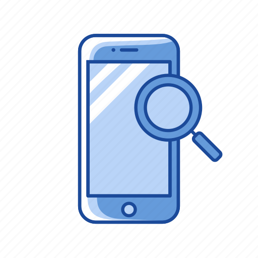 Browse, mobile search, phone, search icon - Download on Iconfinder