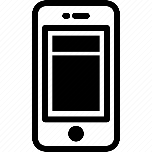columns, device, layout, mobile, phone, smartphone icon