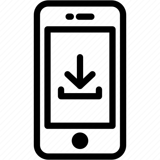 device, download, mobile, phone, smartphone icon