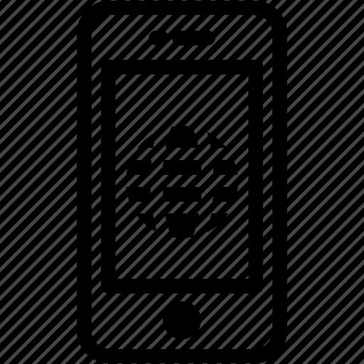 Device, internet, mobile, phone, smartphone icon