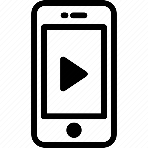 device, mobile, phone, play, smartphone icon