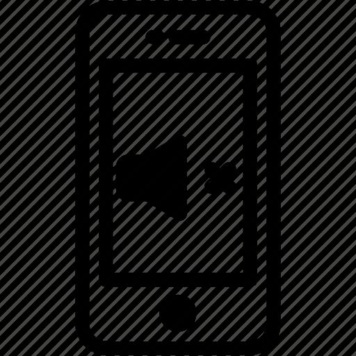 device, mobile, phone, smartphone, sound, voice icon