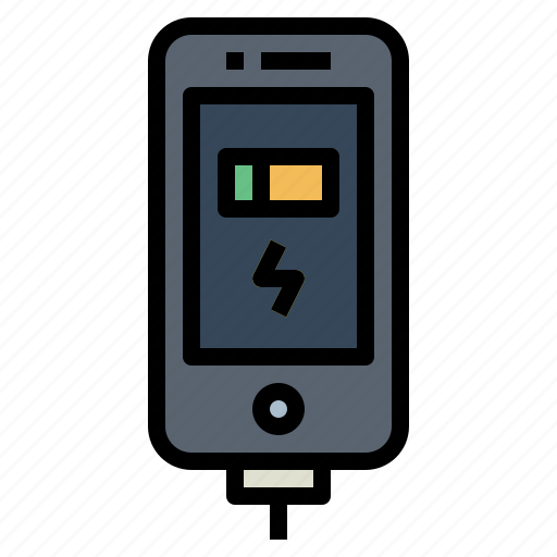 battery, charge, phone, status icon