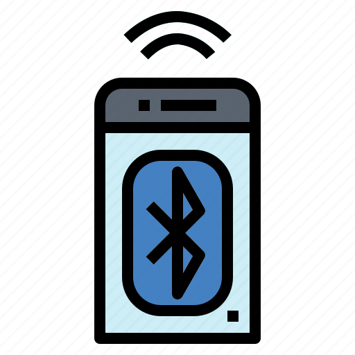 bluetooth, communication, connection, mobile, phone icon