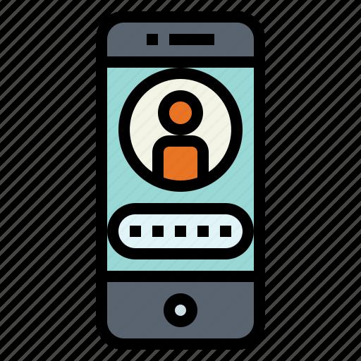 access, lock, password, security icon