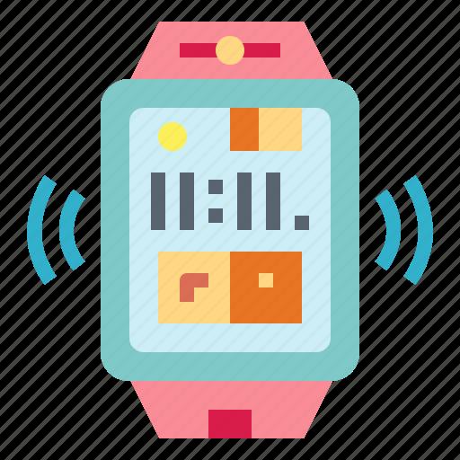 smartwatch, technology, watch, wristwatch icon