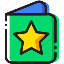 baby, book, cartoony, child, kid, story icon
