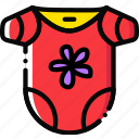 baby, bodywear, cartoony, child, girl, kid icon