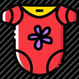 baby, bodywear, cartoony, child, girl, kid icon