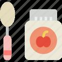 baby, food, toddler, jar, children