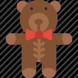 baby, children, teddybear, toddler, toy icon