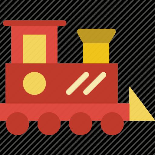 baby, children, toddler, toy, train icon