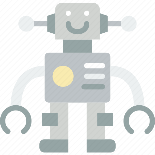 baby, children, robot, toddler, toy icon