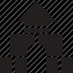baby, blocks, building, children, toddler, toy icon