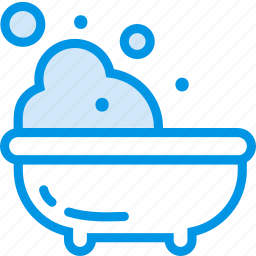 baby, bath, bubble, children, toddler, water icon