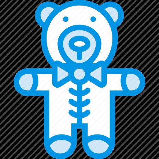 baby, bear, children, teddy, toddler, toy icon