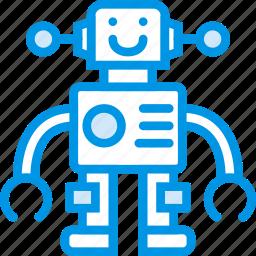 baby, children, robot, toddler, toy icon