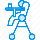 baby, chair, children, feeding, food, toddler icon
