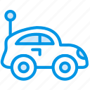 baby, car, children, toddler, toy icon