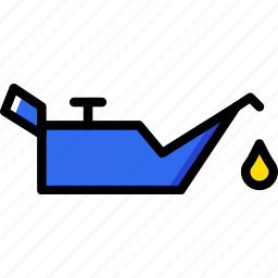 car, low, oil, part, pressure, vehicle icon