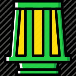 car, part, turbine, vehicle icon
