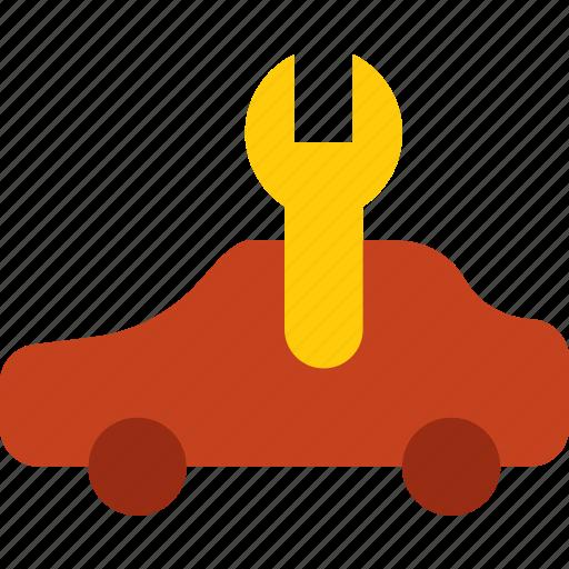 car, due, part, service, vehicle icon