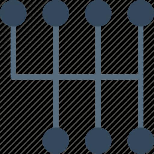 car, gear, part, shift, vehicle icon