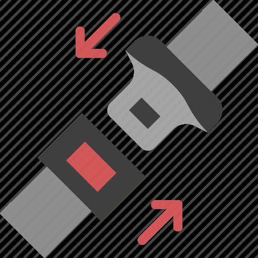 belt, car, part, safety, vehicle icon