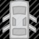 car, doors, open, part, vehicle