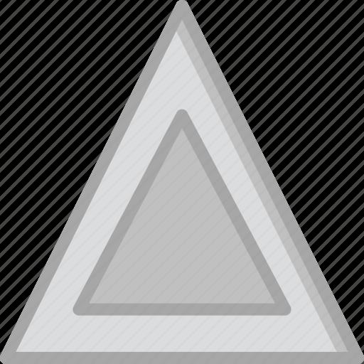 car, part, triangle, vehicle, warning icon