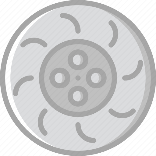 break, car, disk, part, vehicle icon