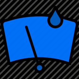 car, front, part, vehicle, wash icon