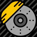 break, car, part, disk, vehicle