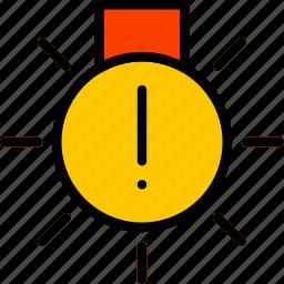 car, exterior, fault, light, part, vehicle icon
