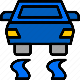 car, control, part, stability, vehicle icon