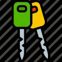 keys, car, part, vehicle