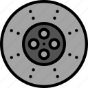 break, car, disk, part, vehicle